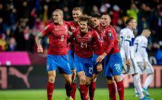 שחקני נבחרת צ'כיה חוגגים צילום(Eisenhuth/Getty Images)