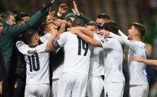 שחקני נבחרת איטליה חוגגים צילום(Claudio Villa/Getty Images)