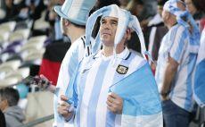 אוהד ארגנטינה בבלומפילד צילום(דני מרון)