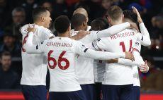 שחקני ליברפול חוגגים צילום(IAN KINGTON/AFP via Getty Images)