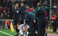 לורנצו פלגריני פצוע צילום(OZAN KOSE/AFP via Getty Images)