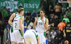 שחקני מכבי חיפה בכדורסל צילום(עומרי שטיין)
