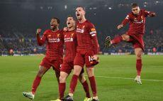 שחקני ליברפול חוגגים צילום( OLI SCARFF/AFP via Getty Images)
