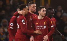 שחקני ליברפול חוגגים צילום(OLI SCARFF/AFP via Getty Images)