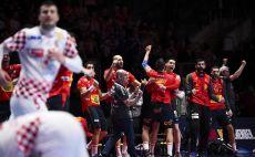 ספרד נגד קרואטיה כדוריד צילום(JONATHAN NACKSTRAND/AFP via Getty Images)
