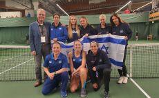 נבחרת הפדרציה בהלסינקי צילום(איגוד הטניס)