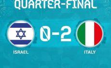 ישראל נגד איטליה צילום(ההתאחדות לכדורגל)