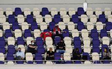 אוהדים באצטדיון בלומפילד צילום(דני מרון)