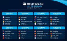 מוקדמות אליפות אירופה 2022 בכדוריד צילום(מסך)