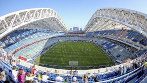איצטדיון פישט בעיר סוצ'י