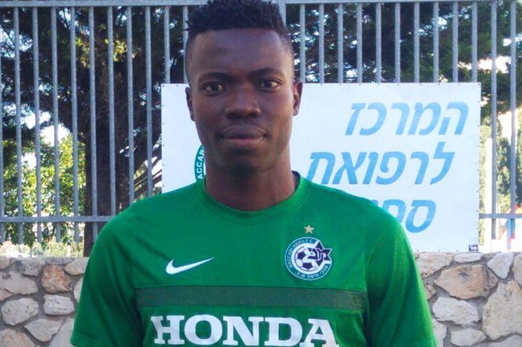 בלם ניגרי בן 20 הגיע למבחנים במכבי חיפה