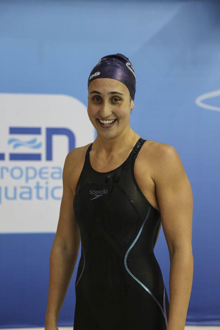 שיא ישראלי לאנדי מורז ב-200 מטר גב לנשים