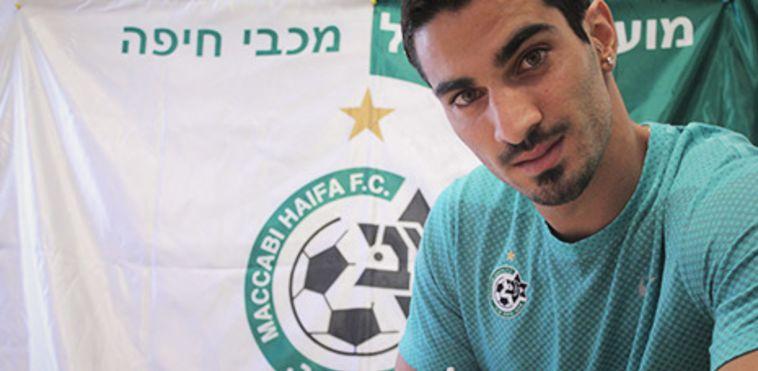 אופיר קריאף חתם במכבי חיפה לארבע שנים