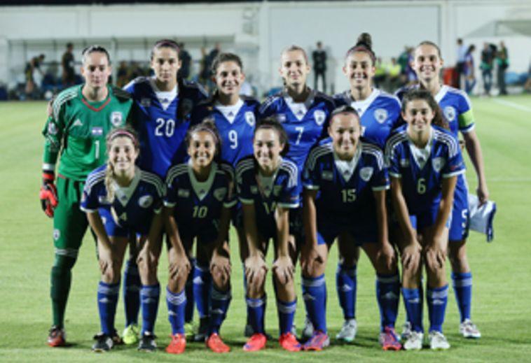 """נבחרת הנערות הובסה 4:0 ע""""י נבחרת צרפת"""