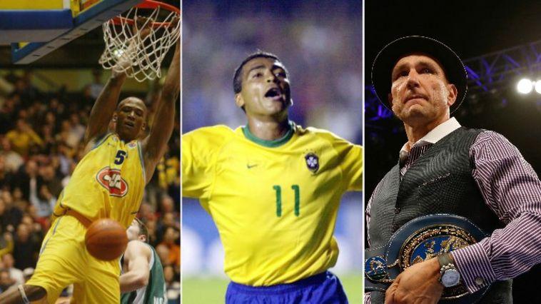 קריירה לרגע: הספורטאים שהתחפשו לאחר הפרישה