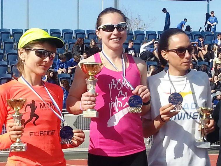 אמרה וקונובלוב זכו באליפות ישראל בריצת כביש