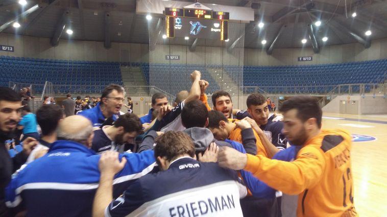 נבחרת ישראל ניצחה 24:29 את ברגנץ