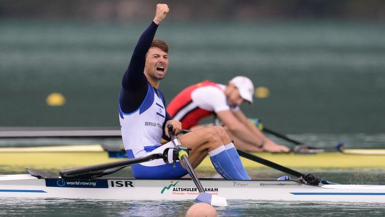 """מדלית זהב לדני פרידמן בתחרות ל-6 ק""""מ בטורינו"""