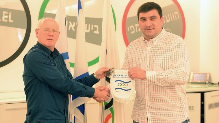 האלוף האולימפי דוד מוסולבס מבקר בישראל