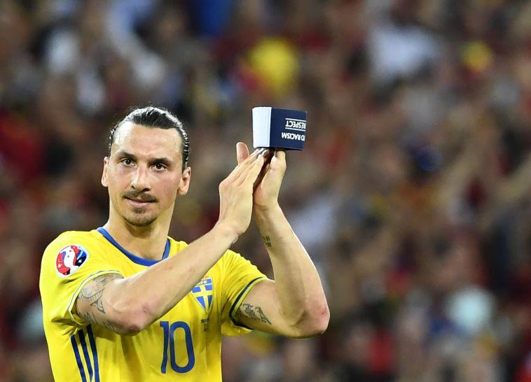 זלאטן איברהימוביץ'. מלך השערים של הנבחרת בכל הזמנים(AFP)