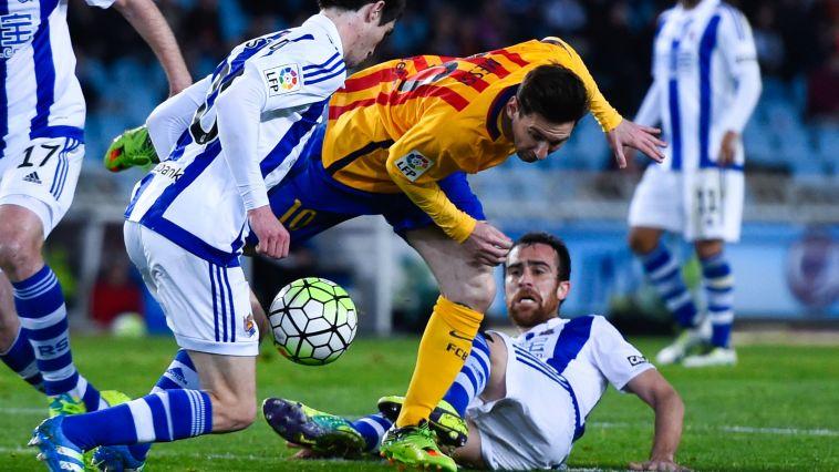 יש ליגה: ברצלונה נכנעה 1:0 לסוסיאדד. הפער: 3