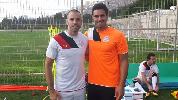 קפילוטו ולבקוביץ' ערכו אימון בכורה בחיפה
