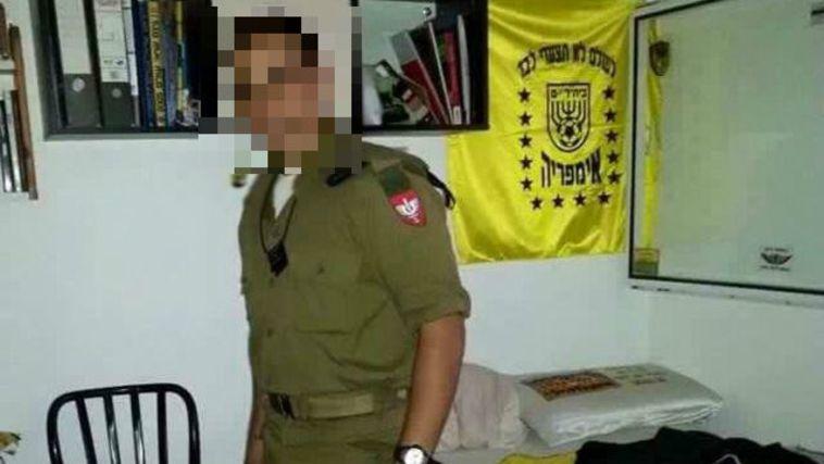 """החייל שירה במחבל זכה לתמיכה מ""""לה פמיליה"""""""