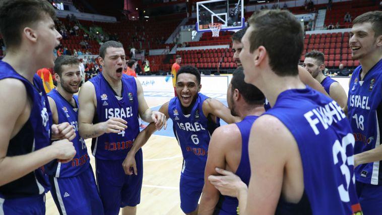 66:86 לנבחרת העתודה הישראלית על צרפת