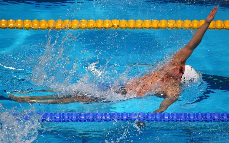 הראשון שהצליח: יונתן קופלב עלה לגמר ב-50 מטר גב