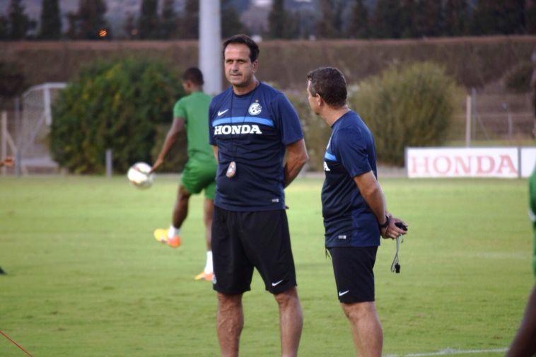 רוני לוי כמאמן מכבי חיפה. קיבל סטיגמה שלא בצדק (הנאדי חטיני)