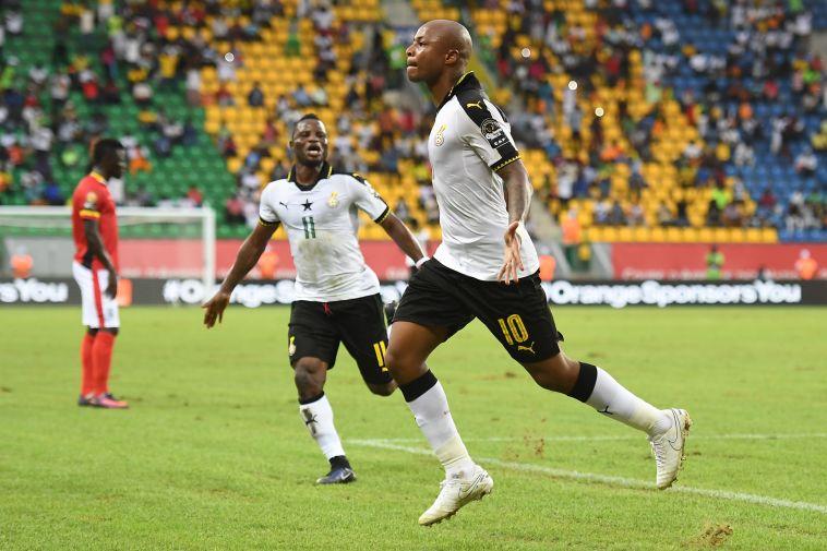 פתחו ברגל ימין: 0:1 לגרנט וגאנה על אוגנדה