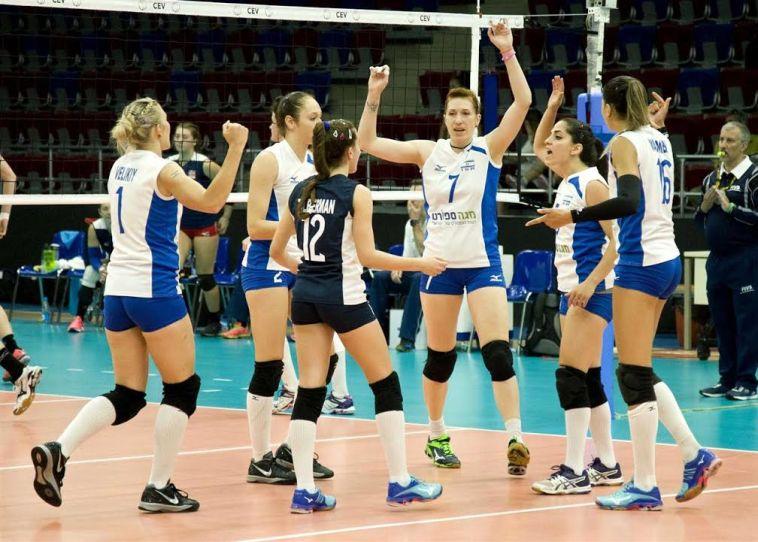 נבחרת ישראל בכדורעף