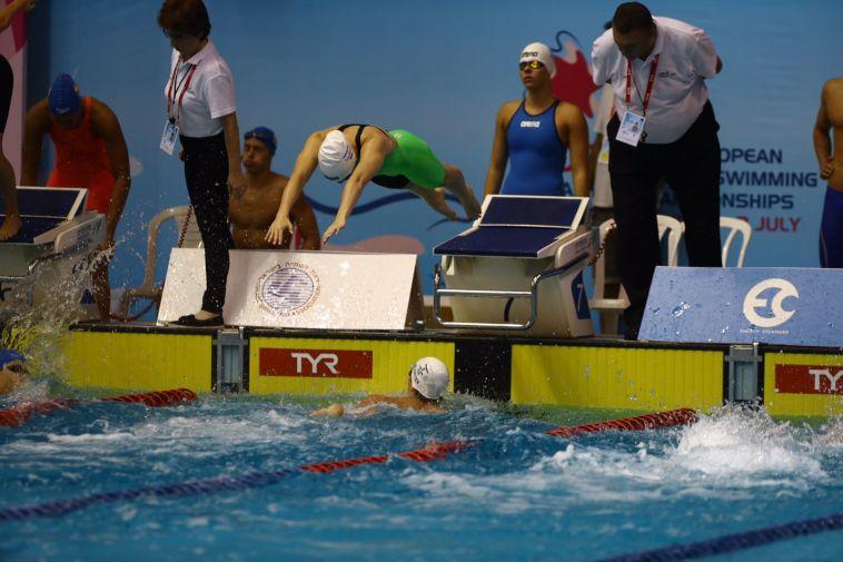 ישראל העפילה מהמקום השני לגמר 4X200 חופשי