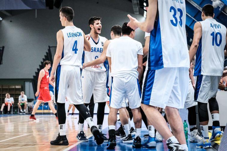 נבחרת הנוער כדורסל