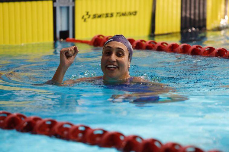 שחייה: שיא ישראלי לאנדי מורז ב-100 מטרים גב
