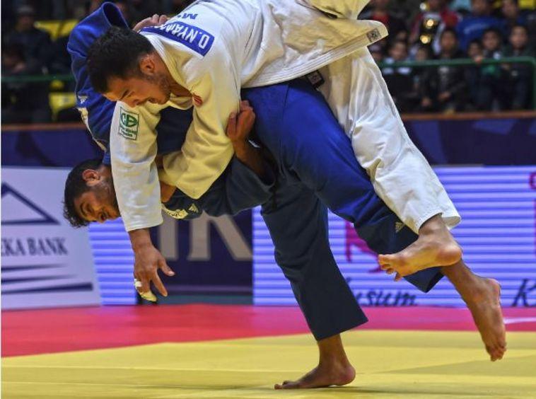 מרשים: שגיא מוקי זכה במדליית זהב בגרנד פרי טשקנט