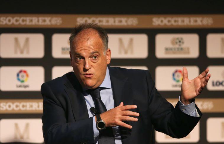 """נשיא הליגה הספרדית: """"סיטי ופ.ס.ז' הורסות את הכדורגל"""""""