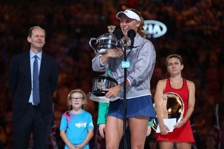 אחרי קרב דרמטי: ווזניאקי זכתה באליפות אוסטרליה