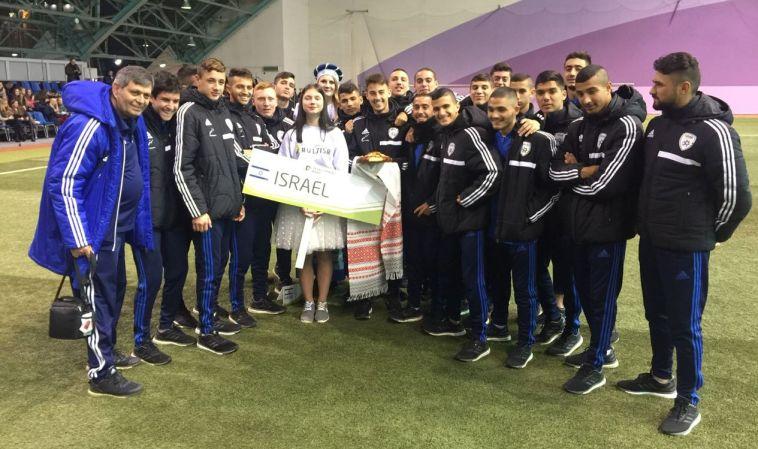 1:5 מרשים לנבחרת הנערים של ישראל על נבחרת רומניה