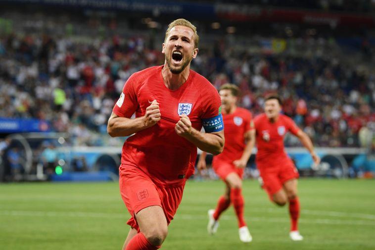 צפו בתקציר שער של קיין בתוספת הזמן העניק לאנגליה 1:2 על טוניסיה