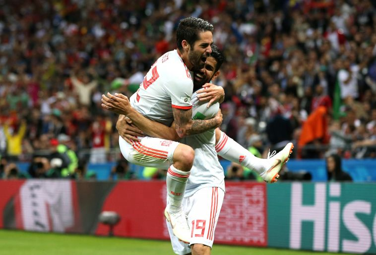 צפו בתקציר: 0:1 חלש לנבחרת ספרד על איראן
