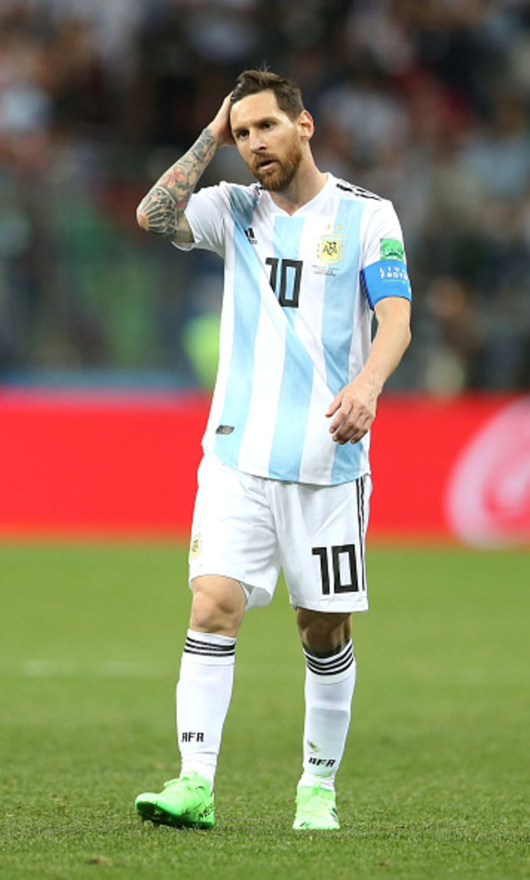 מסי פנה לרונאלדו: תגיד, איך אתה מבקיע גולים במונדיאל?
