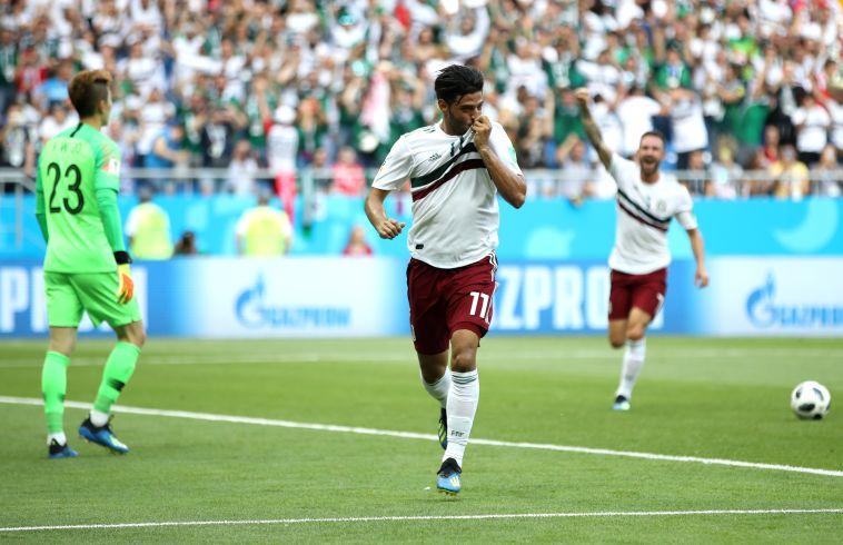 נוגעת בשמינית: צפו במקסיקו מנצחת 1:2 את דרום קוריאה