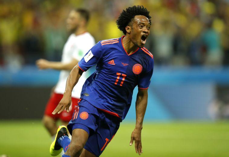 צפו בתקציר: קולומביה בחיים עם 0:3 על פולין שהודחה מהמונדיאל