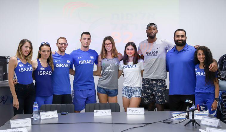 אתלטי ישראל לקראת האליפות