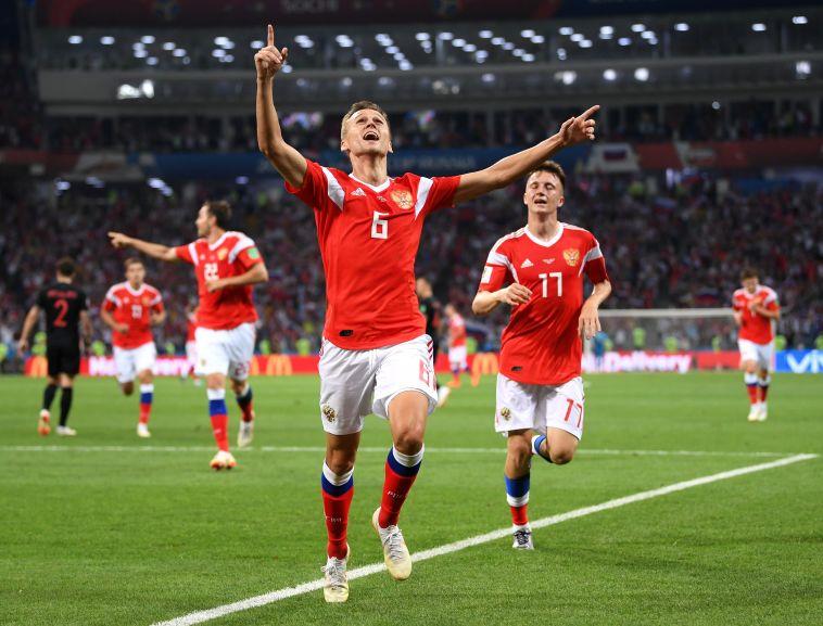 דיווח: שחקני רוסיה שאפו אמוניה כדי לשפר ביצועים במונדיאל