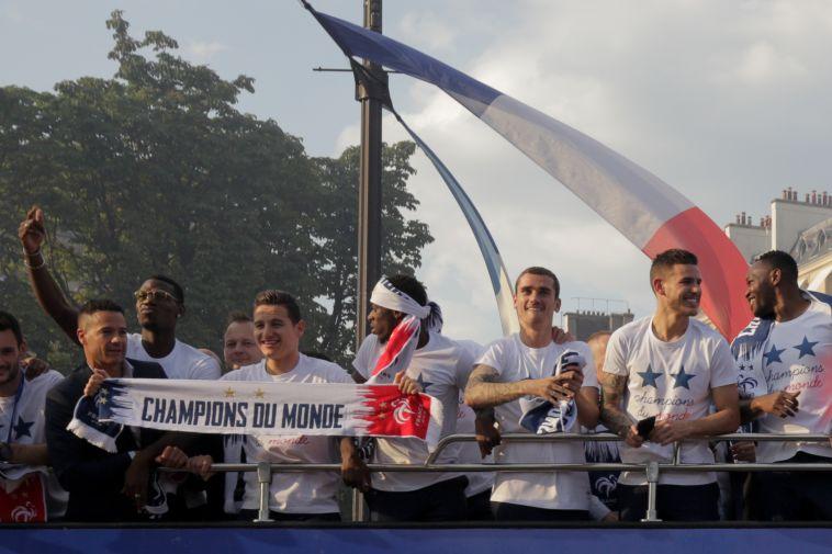 שחקני נבחרת צרפת