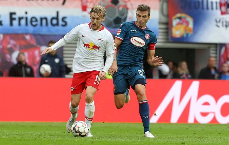 עדיין ללא ניצחון: לייפציג ודיסלדורף נפרדו ב-1:1