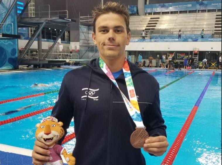 ארד ללוקטב, מדלייה שנייה לישראל במשחקים האולימפיים לנוער