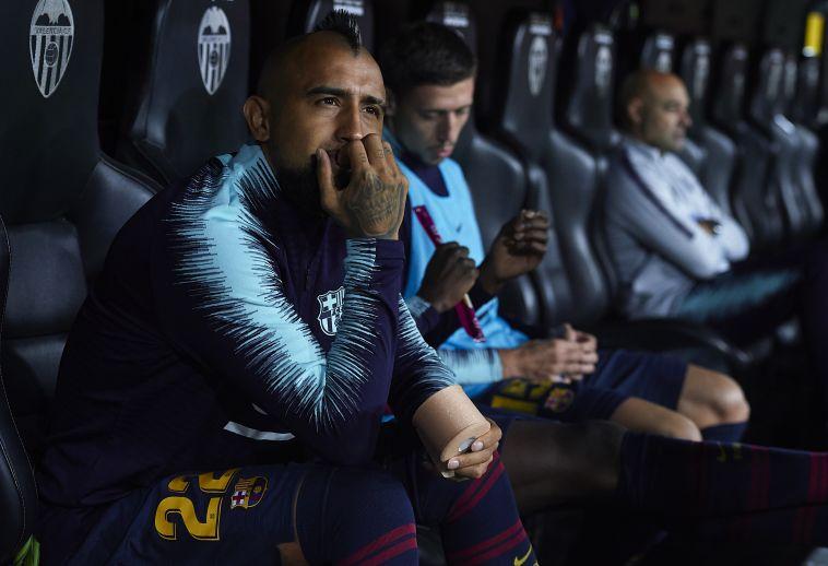 """מנכ""""ל ברצלונה:  """"מה שווידאל עושה זה חוסר כבוד לחבריו"""""""